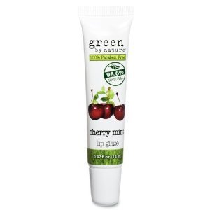 Green by Nature Cherry Mint Lip Glaze by Green by Nature