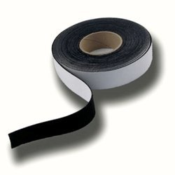 Border Tape for Projection TV Screen - Black Felt (2 inches x 50 feet) by TapeOwl