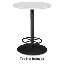 The HON COMPANY Hospitality Table Base with Feetring, 28 by 41-Inch, Black by HON