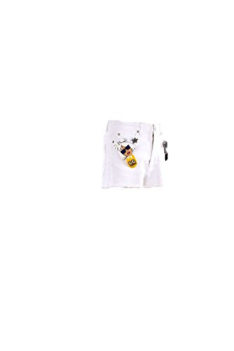 Short Donna Follow Us 42 Bianco Fud810 Primavera Estate 2016