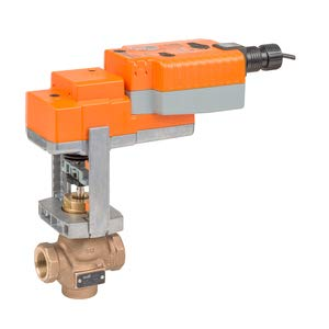 G215B-F+LVKX24-3 Globe Valve | 0.5'' | 2 Way | 1.3 Cv | w/Electronic Fail-Safe | 24V | Floating