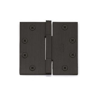 Emtek 96514 Square Corners Square Barrel Heavy Duty Modern Look Bearing Hinge Solid Brass For WoodDoors (4