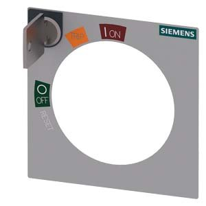 Siemens sentron-3va - Cerradura cilindrica kaba con panel estandar llave numero 2