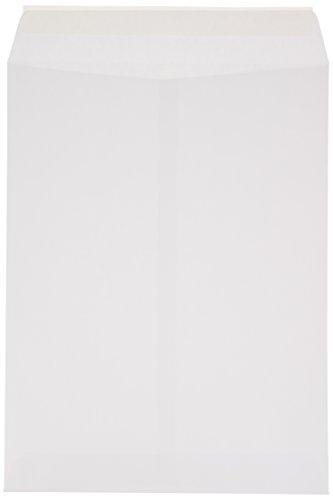 AmazonBasics Catalog Envelopes, Peel & Seal, 9 x 12 Inch, White, 100-Pack Photo #2