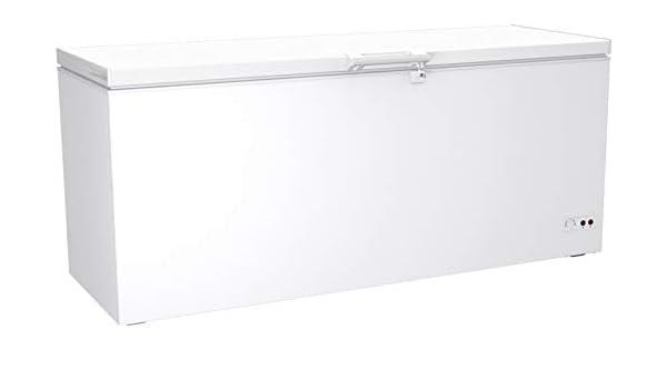 congelador con tapa abatible 572 litros Dual Modus Kühltruhe ...