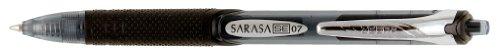 Zebra Sarasa SE Rapid Dry Ink Gel Retractable Pen, 0.7mm, Black, 12 Pack (46410)