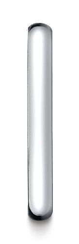 Mens-Platinum-3mm-Slim-Profile-Comfort-Fit-Ring