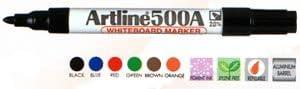 Inc Blue Artline 500A Whiteboard Marker Superior Rubber Stamp /& Seal