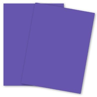 (Mohawk BriteHue - VIOLET - 11 x 17 Card Stock Paper - 65lb Cover - 250 PK)