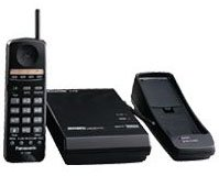 Systems Td Telephone Kx (Panasonic KX-T7880 - Cordless phone - 900 MHz - black)