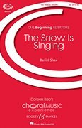 Boosey and Hawkes The Snow Is Singing (CME Beginning) SA composed by Daniel Shaw