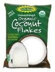 Edward & Sons, Organic Coconut Flakes, Unsweetened, 7 oz (200 g) by NA