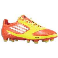 adidas F50 Adizero TRX FG Junior, Orange/Yellow (4.5)
