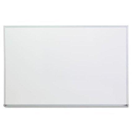 Universal 43623 Dry Erase Board, Melamine, 36w x 24h, Satin-Finished Aluminum Frame (4 pack)
