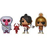 Funko Pop! Movies: Kubo The Two Strings Collectible Vinyl Figures, 3.75' (Set of 3)
