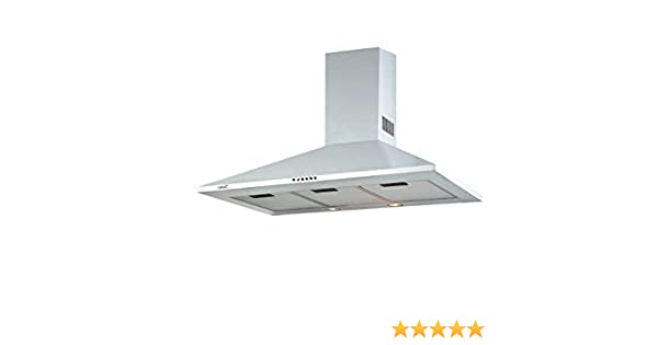 CATA OMEGA 900 WH 645 m³/h De pared Blanco C - Campana (645 m³/h, Canalizado/Recirculación, D, A, B, 71,8 dB): Amazon.es: Grandes electrodomésticos