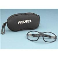 Elvex SGB-10 Small Stretch Neoprene Safety Glass Storage Bag with Zipper & Belt Hook