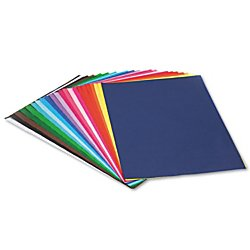 Pacon Spectra(R) Assorted Color Tissue Pack, 12' x 18', 25 Colors, Pack Of 100 Sheets