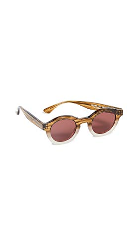 Thierry Lasry Women's Olympy 901 Sunglasses, Brown/Red, One ()