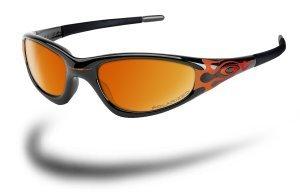 b840e689092 Oakley NEW STRAIGHT JACKET BLACK   FLAMES(oz)  Amazon.co.uk