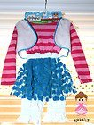 [Lalaloopsy MITTENS FLUFF 'N' STUFF DRESS UP HALLOWEEN COSTUME for GIRLS by Lalaloopsy] (Lalaloopsy Costumes For Girls)