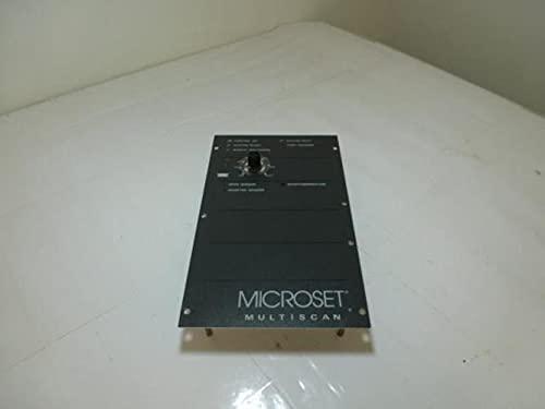 Microset 103920D, Multi-Scan Board