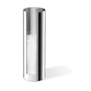 Zack 40091 Scala Cotton Pad Dispenser, 7.87-Inch by 2.52-Inch, High Glossy Finish by Zack