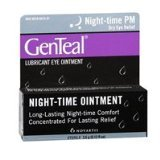 GenTeal Tears Lubricant Eye Ointment, Night-Time Ointment 0.12 oz (Pack of 2)