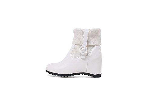 Boots Casual Resistant ABL10448 Wedges Urethane Womens BalaMasa White Slip nC5WpFxc