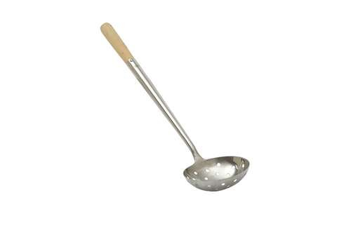 Perforated Ladle - Johnson-Rose 8 Oz. Chinese Perforated Ladle
