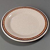 Sierra Sand Durus Designer Pattern Wide Rim Pie Plate 6.5 inch - 48 per ()