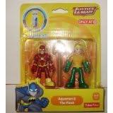 Justice League Imaginext Aquaman & The Flash DC Comics two pack