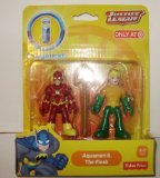 Justice League Imaginext Aquaman & The Flash DC Comics two - Yellow Flash Version