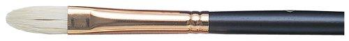 ドラパス 油彩用筆 油彩黒軸 PB フィルバート 6号 53923
