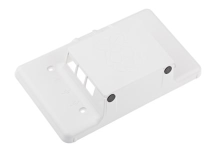 RS Raspberry Pi 7-Inch LCD Touch Screen Case, White