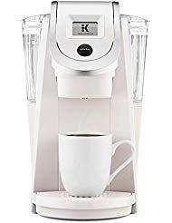 Keurig K200 Plus Series 2.0 Single Serve Plus Coffee Maker Brewer – Sandy Pearl