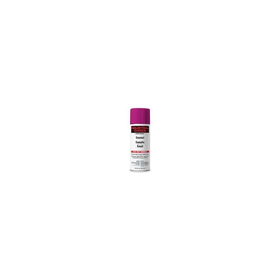RUST OLEUM Spray Paint, Gloss, Safety Purple, 12 Oz case