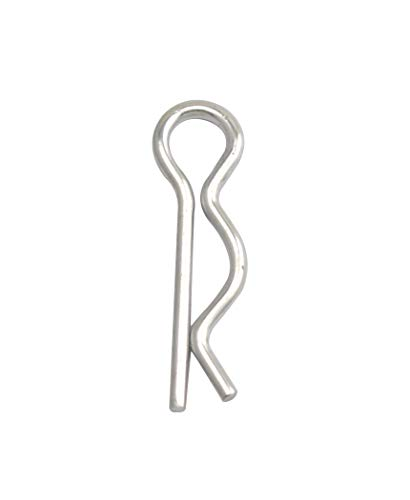 - Wuuycoky Silvery Replacement R Ring Clip Pin 1.5mm by 28mm Pack of 30