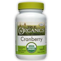 True Organic Cranberry, 30 Tabs by Enzymatic Therapy (Pack of (Cranberry 30 Tabs)