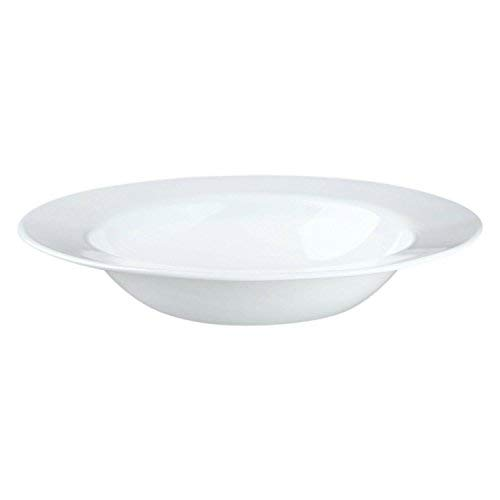 Corelle Impressions 28oz/828mL Wide Rim Entree Bowl 4 pack Winter FrostWhite 1116226