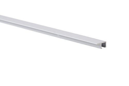 STAS picture hanging (ceiling) system: STAS u-rail white 150 cm (59