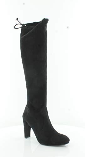 Stuart Weitzman Women's Keenland Tall Boots, Black, 8 B(M) US