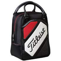 (New Titleist Golf Shag Bag Black Red White Practice Ball Bag)