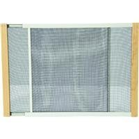 WB Marvin AWS1533 Adjustable Window Screen, 15in High x Fits 19-33in Wide by THERMWELL PRODUCTS