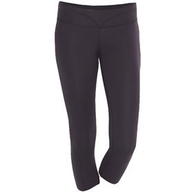 Pennant Sportswear Capri Leggings Black X-Small by Pennant Sportwear