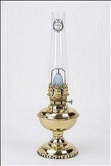 Aladdin Mantle Lamp Co. Lamp - K102 Deluxe Brass Oil Lamp