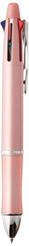 - Pilot Dr. Grip 4+1, 4 Color 0.7 mm Ballpoint Multi Pen & 0.5 mm Mechanical Pencil - Baby Pink (BKHDF1SFN-BP)