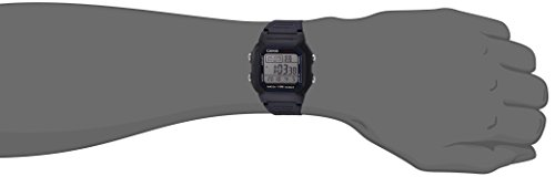 Casio Mens Quartz Resin Sport Watch(Model: W-800H-1AVCF)