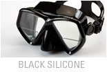 Sherwood Oracle + Plus Mask with Magnifier Lens (Black/Black)