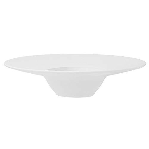 Prato de Entrada Porcelana 30,5 cm Branco Oxford